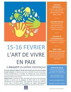 Affiche AVP UNIPAZ 15-16 février 2020